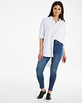 24/7 Organic Vintage Blue Skinny Jeans