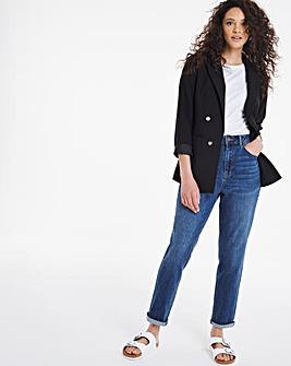 Demi Vintage Blue Mom Jeans