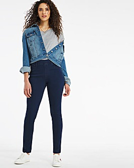 Bella Dark Indigo Pull On Slim Leg Jeggings