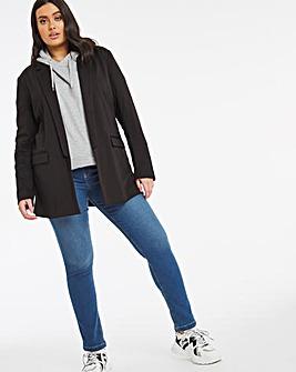 Bella Mid Blue Pull On Slim Leg Jeggings