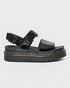 Dr. Martens Voss Patent Chunky Sandals Standard Fit