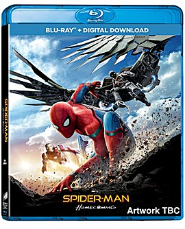 Spiderman Homecoming Bluray
