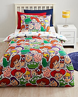 Toy Story Tossed Toys Reversible Duvet Set