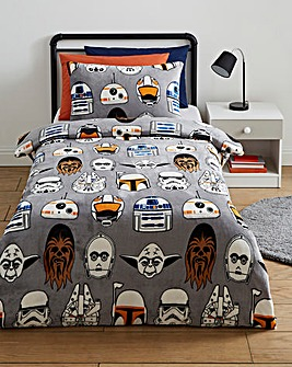 Star Wars Icons Fleece Duvet Set