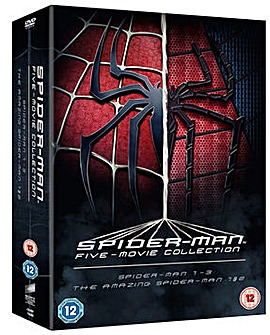 Spiderman Five Film Collection DVD
