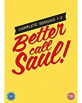 Better Call Saul Seasons 1 to 3 DVD