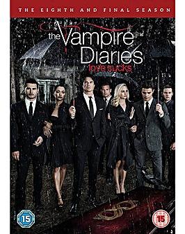 Vampire Diaries Season 8 DVD