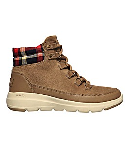 Skechers Glacial Ultra Peak Lace Up Boots Standard D Fit