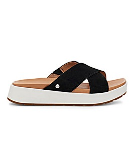 Ugg Emily Suede Cross Sandals D Fit