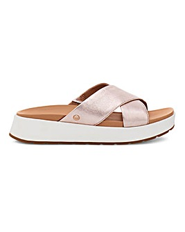Ugg Emily Leather Cross Sandals D Fit