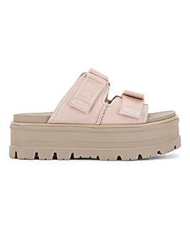Ugg Clem Suede Platform Sandals Standard D Fit