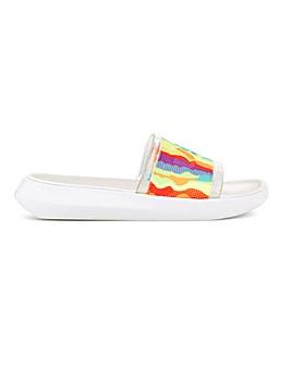 Ugg Pride Slider Sandals Standard D Fit