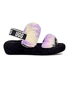 Ugg Oh Yeah Tie Dye Slider Slippers Standard D Fit