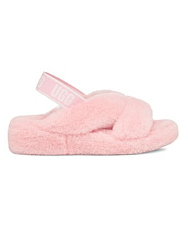 Ugg Fab Yeah Slider Slippers Standard D Fit