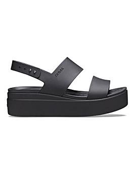 Crocs Brooklyn Low Wedge Sandals Standard D Fit