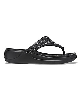 Crocs Monterey Toe Post Sandals Standard D Fit