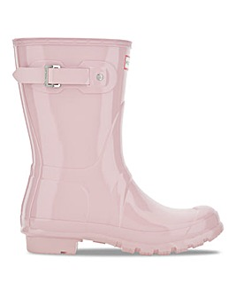 Hunter Short Gloss Welly Standard D Fit