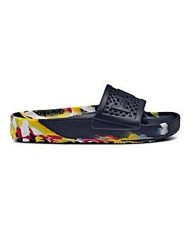 Hunter Original Marble Moulded Slider Sandals Standard D Fit
