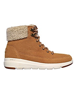 Skechers Glacial Ultra Woodlands Lace Up Boots Standard D Fit