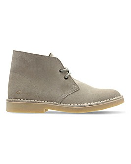 Clarks Suede Desert Boots Standard D Fit