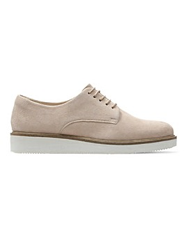 Clarks Baille Stitch Lace Up Brogue Shoes Standard D Fit