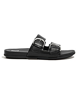 Fitflop Graccie Leather Slider Sandals D Fit
