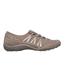 Skechers Breathe Easy Moneybags Leisure Shoes Standard D Fit