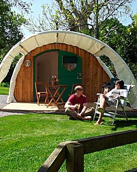 One Night Luxury Camping Cabin Somerset