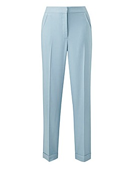 Sage Tailored Ankle Grazer Trousers