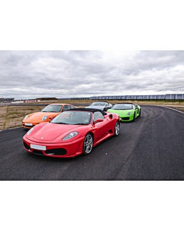 Four Supercar Blast, Ride & Photo