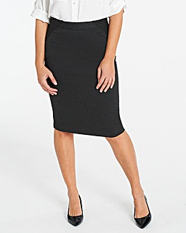 Magisculpt Ponte Pencil Skirt