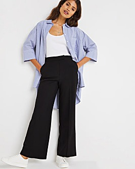 Mix & Match Black Wide Leg Trousers
