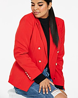 Red Statement Trophy Blazer