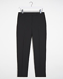 Mix and Match Black Tapered Leg Trousers