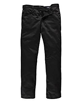 Peter Werth Black Twill Jean 31In Leg