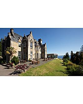 One Night Scottish Castle Escape for Two