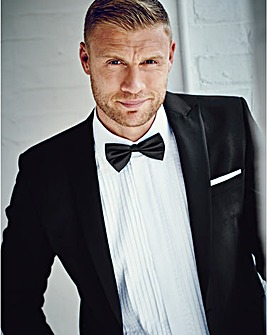 Flintoff By Jacamo Dinner Suit Jacket Short