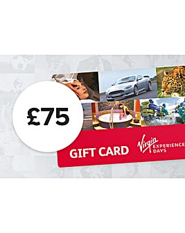 75 Pound Virgin Experience Day GiftCard