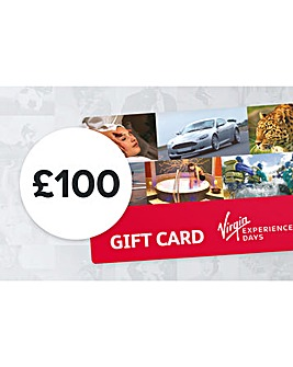 100 Pound Virgin Experience Day GiftCard
