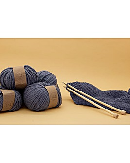 Calm Club Comfort Blanket Knit Your Own Blanket Kit