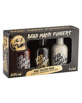 Dead Mans Fingers 3 x 5cl Rum Pack