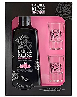 Tequila Rose Strawberry Liqueur Gift Pack