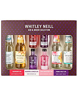 Whitley Neill Gin & Mixer Gin Gift Pack