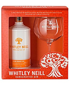 Whitley Neill Blood Orange Gin Gift Pack