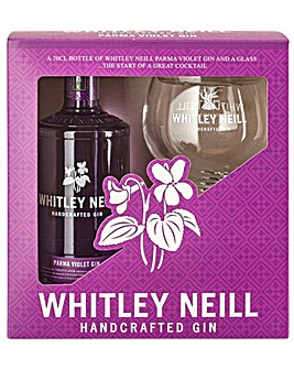 Whitley Neill Parma Violet Gin Gift Pack