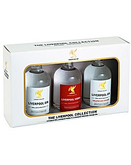 Liverpool Spirits 3 x 5cl Collection