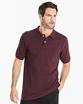 Capsule Short Sleeve Embroidered Polo Long