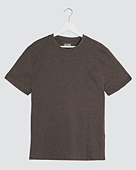 Charcoal Crew Neck T-shirt Regular