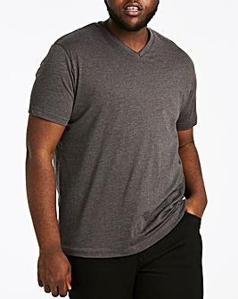 Charcoal V-Neck T-shirt