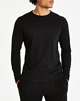 Black Long Sleeve T-shirt Regular
